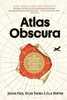 book cover image Atlas Obscura
