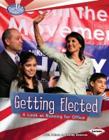 Getting Elected