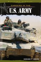 Careers in the U.S. Army