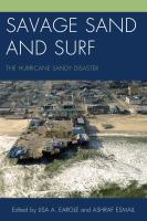 Savage sand and surf : the Hurricane Sandy disaster