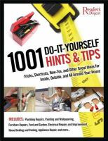 1001 Do-it-yourself Hints & Tips