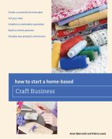 How to Start A Home-based Craft Business