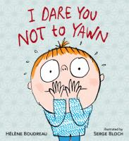 book cover for I dare you not to yawn