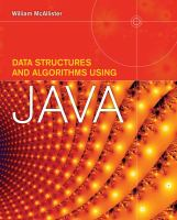 Data structures and algorithms using Java [electronic resource]