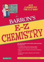 Barron's E-Z chemistry