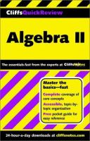 Algebra II. Vol. 2 [electronic resource]