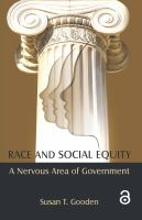 Race and social equity : a nervous area of government