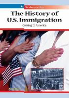 The History of U.S. Immigration