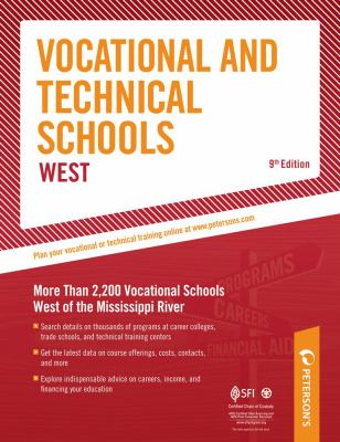 Peterson's vocational and technical schools. West