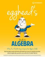 Peterson's egghead's guide to algebra [electronic resource]