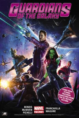 Guardians of the Galaxy book jacket