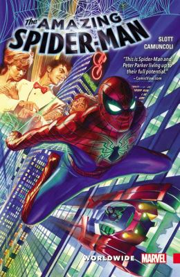 The Amazing Spider-Man Worldwide book jacket
