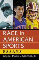 Race in American sports : essays