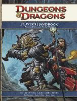 Dungeons & Dragons Player's Handbook: Arcane, Divine, and Martial Heroes : Roleplaying Game Core Rules