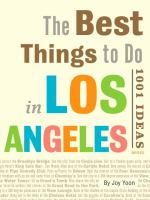 The best things to do in Los Angeles : 1001 ideas