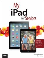 book cover image: My iPad for seniors