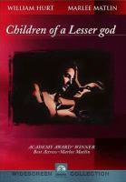 Children of a lesser god cover image