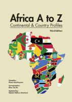Africa A to Z : continental and country profiles