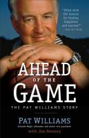 Ahead of the game : the Pat Williams story