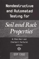Nondestructive and Automated Testing for Soil and Rock Properties [electronic resource]