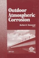 Outdoor Atmospheric Corrosion [electronic resource]