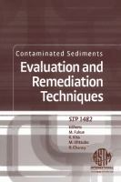 Contaminated Sediments [electronic resource]: Evaluation and Remediation Techniques