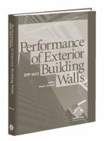 Performance of Exterior Building Walls [electronic resource]