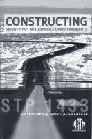 Constructing Smooth Hot Mix Asphalt (HMA) Pavements [electronic resource]