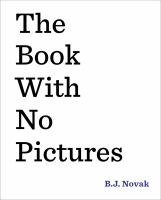 Book cover image of The book with no pictures