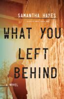 What you left behind : a novel