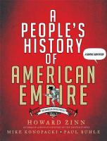 book cover image for A People's History of American Empire
