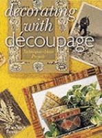 Cover Image of Decorating with decoupage