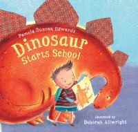 Cover Image of Dinosaur Starts School
