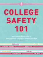 Cover of the book College safety 101 : Miss Independent's guide to empowerment, confidence, and staying safe
