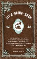 Let's Bring Back by M.M. Blume
