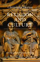 Religion and culture [electronic resource]