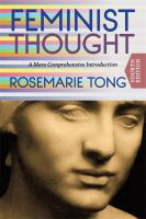 Feminist thought : a more comprehensive introduction cover image
