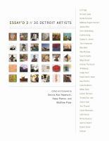 Essay'd 3 : 30 Detroit artists /