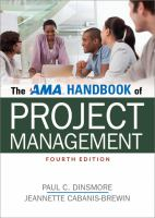 The AMA Handbook of Project Management [electronic resource]