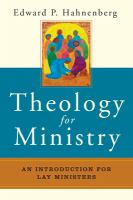 Theology for ministry : an introduction for lay ministers