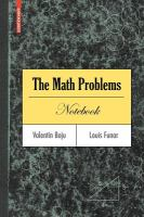 The math problems notebook [electronic resource]