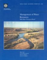 Management of Water Resources [electronic resource]: Bulk Water Pricing in Brazil