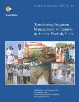 Transferring Irrigation Management to Farmers in Andhra Pradesh, India [electronic resource]