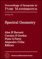 Spectral geometry [electronic resource]