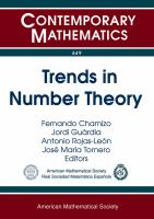 Trends in number theory [electronic resource] : fifth Spanish meeting on number theory, July 8-12, 2013, Universidad de Sevilla, Sevilla, Spain