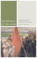 The republic of the living : biopolitics and the critique of civil society