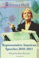 Representative American speeches 2010-2011
