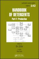 Handbook of Detergents [electronic resource]