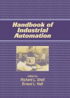 The Handbook of Industrial Automation [electronic resource]