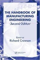 The Handbook of Manufacturing Engineering. Set [electronic resource]